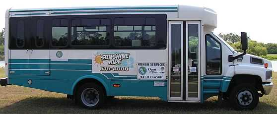 Dial a Ride and Sunshine Ride Bus Pictures 2011 008