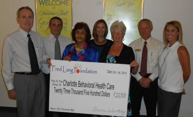 Fred Lang Fundation Port Charlotte 2013 group check