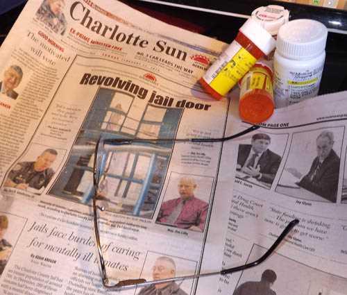 Revolving Jail Door Charlotte Sun Sunday Feb 23 2014 cover 500
