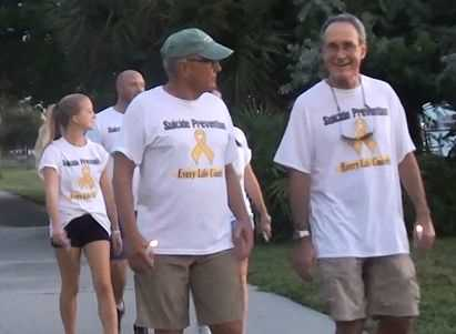 Charlotte County Walked for Suicide Prevention 2014